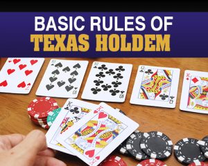 Basic Rules of Texas HoldEm Poker