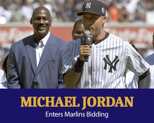 Michael Jordan enters the Marlins bidding saga