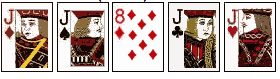 Poker-Hands-Four-of-a-kind