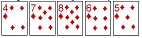 Poker-Hands-straight-flush